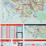 Public transportation map (bus 58)